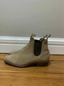RM Williams Adelaide Suede Boots Size 10E WORN HANDFUL OF TIMES