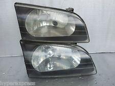 Toyota Starlet EP91 Glanza OEM Right RH Black Headlights