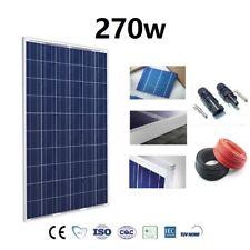 Placa Solar 270w Panel Solar 12v 24v Fotovoltaico Policristalino