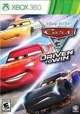 Cars 3: Driven to Win (Microsoft Xbox 360, 2017)