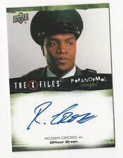 Roger Cross The X Files Ufos & Aliens Paranormal Script Autograph Card Auto