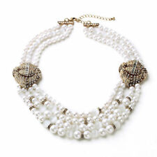 Modeschmuck-Halsketten & -Anhänger aus Perlen
