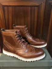 Timberland Men's Brittonhill Brogue Medium Brown Boots New In Box  Size 10
