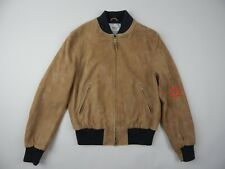 Golden Bear California Tan Goat Suede Baseball jacket men's sz M
