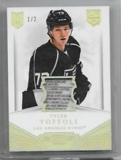 13-14 DOMINION ROOKIE LAUNDRY TAG #D-TT TYLER TOFFOLI RC 1/2 KINGS 2CL