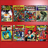 fridge magnets Vintage 1940's comic book covers set of 8
