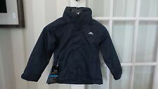 Trespass Boys Navy Jacket Age 2-3 Brand New RRP £49.99