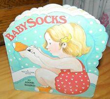 BABYSOCKS A Wee William BOARD BOOK by ANNE BAIRD