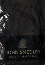 JOHN SMEDLEY BLACK ROLL NECK JUMPER. LARGE. SEA ISLAND COTTON. LARGE. NEW. £160
