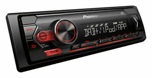 Pioneer MVH-S220DAB 1DIN USB Autoradio - Nero -Android e iphone compatibile-DAB