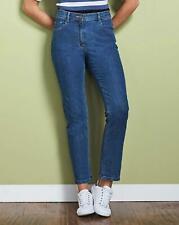 Anthology Denim Elle Straight Leg Jeans- Stonewash UK 16 JS001 MM 05