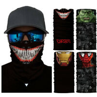 Superheros Motorcycle Cycling Neck Scarf Bandana Headband Cosplay Balaclava