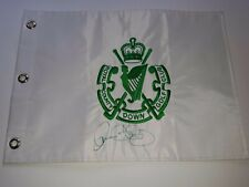 Rory McIlroy Signed Autographed Golf Flag