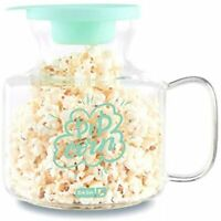 Dash Microwave Popcorn Popper - Aqua