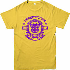 Transformer T-Shirt,Decepticon Military Academy Spoof,Adult and kids Sizes