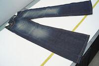 REPLAY WV580 Janice Bootcut Damen Jeans Hüft Hose schlag W26 L34 blau NEU ad16