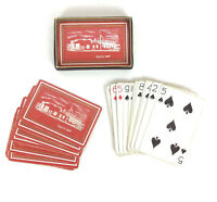Southwest Iron Works Since 1939 Advertising Playing Cards Red Gold - Incomplete