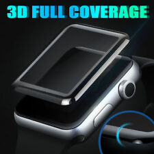 3D Full Edge Cover Tempered Glass Screen Protector for Apple Watch 3/2/1 38/42mm