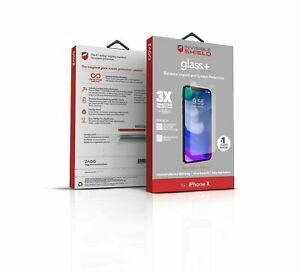 ZAGG Invisible Shield Glass+ Screen Protector for Apple iPhone X /XS - NEW