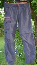 DECATHLON Outdoor Tekking Hose + Shorts Zip off Pants Gr.146/152 grey top