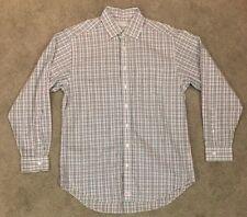 Vineyard Vines Plaid L/S Men's Size Medium Taylor Shirt Button Down Whale Logo M