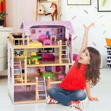 Puppenhaus Puppenstube Puppenvilla Barbiehaus Spielzeughaus B Ware