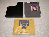 Tetris 2 (Nintendo Entertainment System, 1993) NES Authentic Game w/Manual Exc
