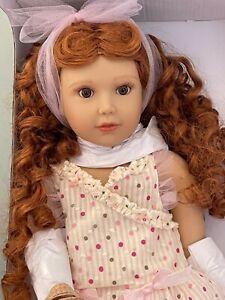 """Kidz n Cats Doll 18""""-Sonja Hartmann- Clarissa  New in Open Box"""