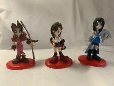 * NEW * Lot of Coca Cola Final Fantasy VII #2 Aerith #4Tifa #8 Rinoa Figure