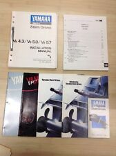 Yamaha Marine Stern Drive V6 4.3/ V8 5.0 / V8 5.7 Installation Manual
