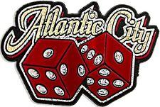 Atlantic City with Dice Fridge Magnet
