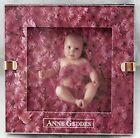Anne Geddes Clare Baby In Pink Flowers Hallmark Small Framed Picture Desk