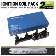 Ignition Coil Pack Citroen C2 C3 1.4L Berlingo Xsara Peugeot 206 307 TU5JP 1.6L
