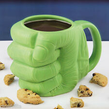 Tazza in ceramica Hulk fist Shaped Marvel Avengers Mug forma pugno Paladone