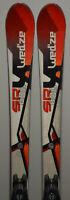 Skis parabolique d'occasion WED'ZE SRX 800 + Fixations - 158cm à 172cm