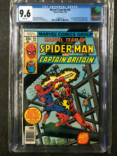 Marvel Team-Up #65 CGC 9.6 1st Captain Britain and Arcade White Pages