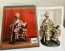 Circus Famous American Clowns Paul Jerome Hobo Figurine 1985 Rare Collectible