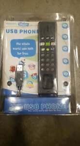 Internet Skype Telefono Voip USB PC Chiamata Telefono