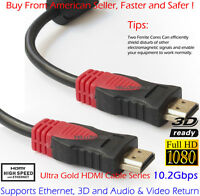 15FT HDMI Cable High Speed Premium 1.4 1080P Male HDTV PS4 DVD LCD xBox