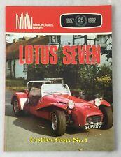Lotus Seven Collection No 1 Brooklands Books R.M. Clarke