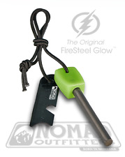 FIRESTEEL GLOW Glow-In-The-Dark Survival Fire Starter - Hiking Camping Hunting