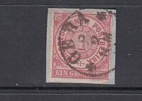 Altdeutschland Norddeutscher Bund Mi-Nr. 4 gestempelt Gera
