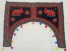 New Embroidery Ethnic Rabari Tribal Tapestry Decor Door Valance Indian Toran