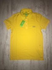 New Men Hugo Boss Green Paule Polo T-Shirt Yellow Size XXL
