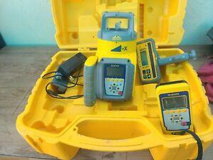 Spectra Precision GL612N Rotary Grade Laser Level W/ Remote Control, Receiver
