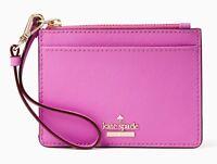 NWT $88 Kate Spade CAMERON STREET MELLODY Key Chain Card Case Wristlet Wallet!