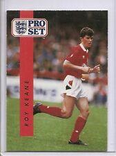 ROY KEANE 1990-91 Pro Set UK #175 ROOKIE CARD Nottingham Forest MLS Star !!
