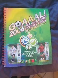 Complete Panini Goaaal World Cup 2006 Trading Card Binder 150/150 Ronaldo, Messi