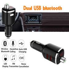 Wireless Bluetooth Car Kit FM Transmitter Radio Handsfree MP3 Player USB Charger