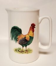 Grace's teaware Rooster Cream Pitcher Coffee Tea Party bird farmhouse shabbychic